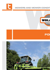 Polaris - Central Suspension Mowers  Brochure
