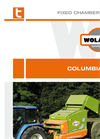 COLUMBIA - Model R98-R10EVO-R12EVO - Fixed Chamber Round Balers Brochure