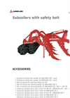 Angeloni - Model DP-Breaker - Sub-Soiler with Safety Bolt Brochure
