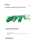 Angeloni - Model FCM - FCM Plus - Double Wheels Disc Harrows Brochure
