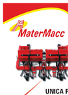Model UNICA-PM - Row Crop Cultivator  Brochure