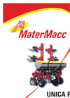 Model UNICA-PVI - Row Crop Cultivator Brochure