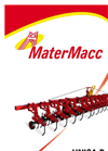 Model UNICA-R - Row Crop Cultivator Brochure