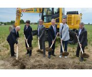 Topcon breaks ground on new technology center in Concordia, Italy