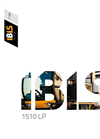 Model IBIS 1510 LP - Self-Propelled Machine Brochure