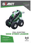 GIANT - Model E-SKID - Skid Steer Loaders Brochure