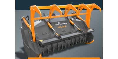 Model TFX - Forestry mulcher with Fixed Hammers