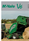Model V660 - Variable Chamber Round Baler- Brochure