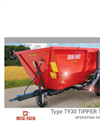 Barrow - Model T930 – 6t - Trailer Brochure