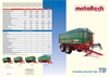 Model TB 10 000 - Agricultural Trailers Brochure
