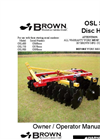 OSL-900-2422 Offset Farm & Ranch Disc Harrow- Brochure