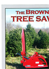 Brown TreeSaw - Model TS-100 - Grapple - Brochure