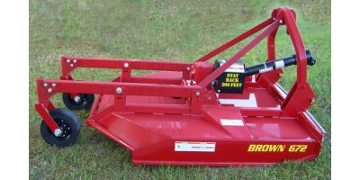 Brown TreeSaw - Model 672HD-D-1 - Extra Heavy Duty Brush Cutter