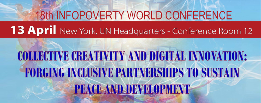 Irritec at XVIII Infopoverty World Conference to fight poverty and sustain african countries