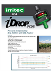 iDrop - Turbulent Flow Dripper Brochure
