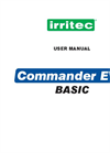 Irritec Commander Evo Basic Programmer - User Manual