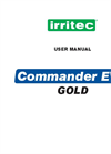 Irritec Commander EVO Gold Programmers - User Manual