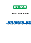 Shaker Set Fertigation Units - Installation Manual