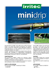 Irritec minidrip™ - Small Diameter Dripline - Brochure