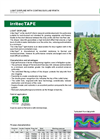 irritecTape - Light Dripline - Brochure