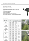 Irritec F22 - Medium-Long Radius Overhead Sprinkler - Brochure