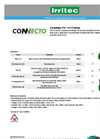 Irritec Connecto Compression Fittings - Brochure
