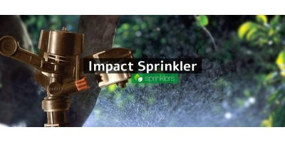 Medium-long radius sprinklers