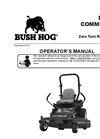 Bush Hog - Model PZ Series - Zero-Turn Professional Mower- Brochure
