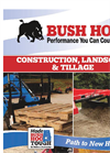 Bush Hog - Model DSP8, DSP10 Series - Pull Dirt Scrapers Brochure