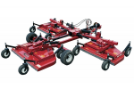 Bush Hog - Model TD1100, TD1500 & TD1700 - Tri-Deck Finishing Mowers