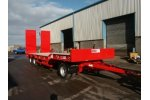Model AT3LL - 24 - 3 Axle Turntable Low Loader