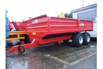 Model 2 - Axle Dropside Trailer