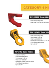 CTD - Ductile-Iron Implement Hitches Datasheet