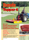 Single Spindle Pasture Toppers Brochure