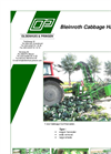 Bleinroth - Cabbage Harvester Brochure