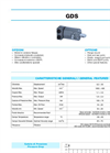 Tipo - Model GDS - Orbit Motors Brochure