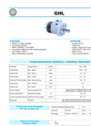 Tipo - Model GHL - Orbit Motors- Brochure
