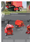 Top cut Tronic - Round Balers Brochure
