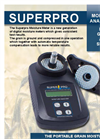 Superpro - Portable Grain Moisture Meter Brochure