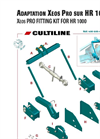 Model Xeos PRO - Pneumatic Seed Drill Brochure