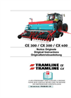 Tramline - Model CE/CX - Mechanical Seed Drill Brochure