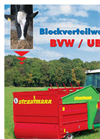 Verti-Mix - Model VM - Fodder Mixing Wagon Brochure