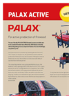 Palax - Active Series - Firewood Processor- Brochure