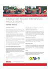 PALAX Combi M II Firewood Processor - Brochure