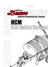 Demco - Model 21, 30 & 40 - 300 Gallon Single Axle Field Sprayers Brochure