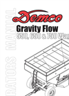 Model 550, 650 & 750 - Gravity Flow Wagons Brochure