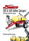 Demco - Model 28, 30 & 45 - 300 Gallon Single Axle Field Sprayers Brochure