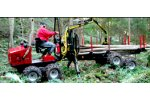 ALSTOR 8x8 - Model 831 - Forwarder Diesel Trailer