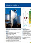 Model WS - Continuous Flow Dryer Brochure