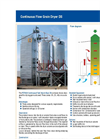 Model DS - Continuous Flow Dryer Brochure
